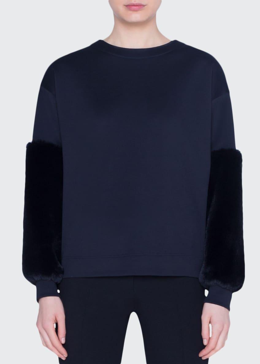 Akris punto Fur-Trimmed Neoprene Shirt & Matching Items