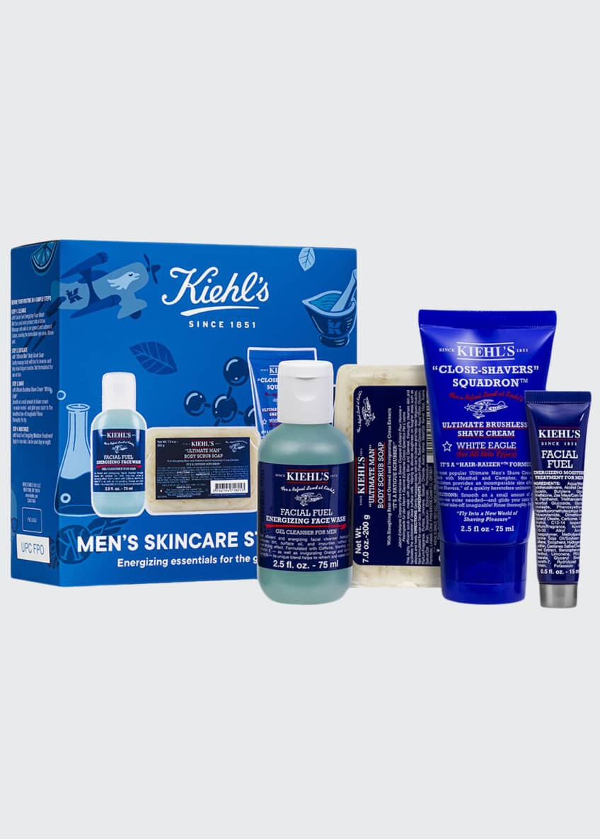 Kiehl's Since 1851 Men's Skincare Starter Kit