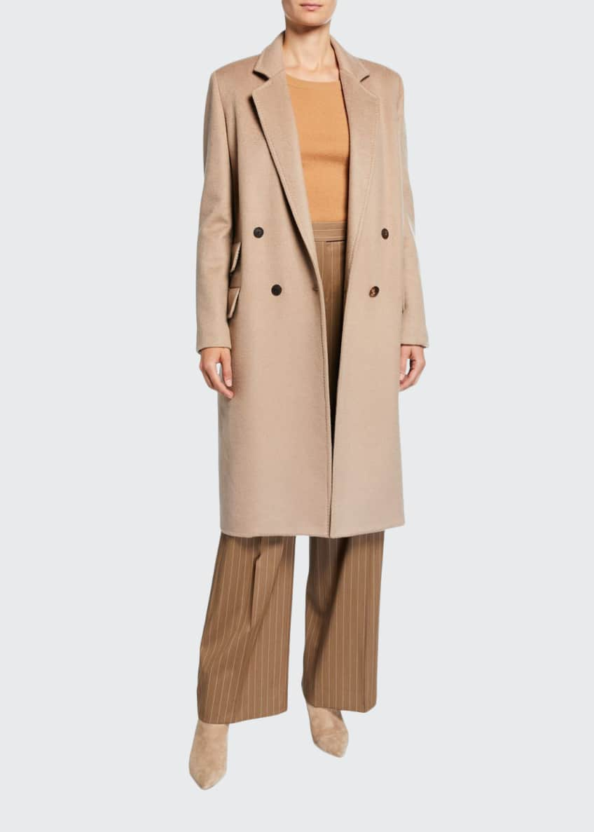 Maxmara Andrea Cashmere Double-Breasted Coat & Matching Items