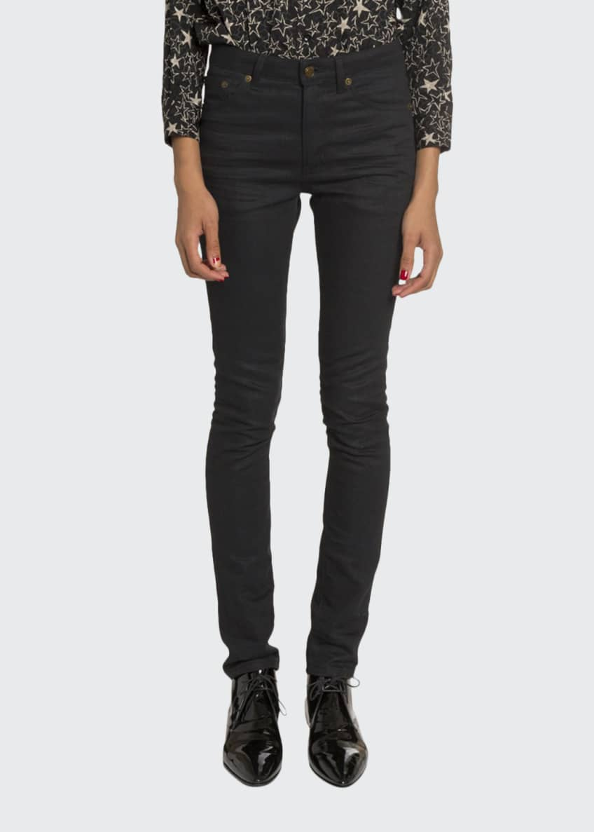 Saint Laurent Mid-Rise Skinny Jeans & Matching Items