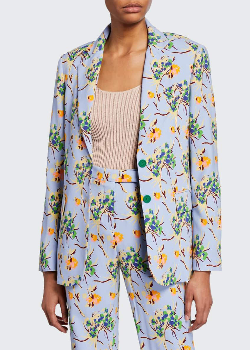 Etro ALLOVER FLORAL PRINT JACKET & Matching Items