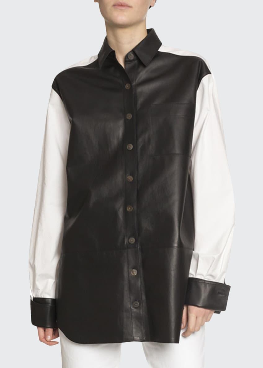 Loewe Long-Sleeve Cotton Button-Front Shirt & Matching Items