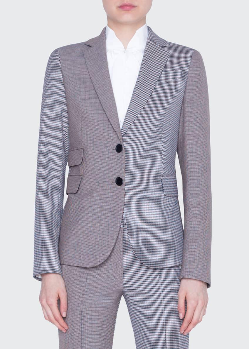 Akris punto Two-Tone Slim Blazer Jacket & Matching