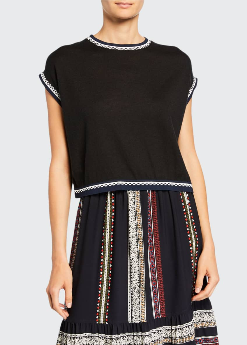 Derek Lam Smocked Skirt & Matching Items