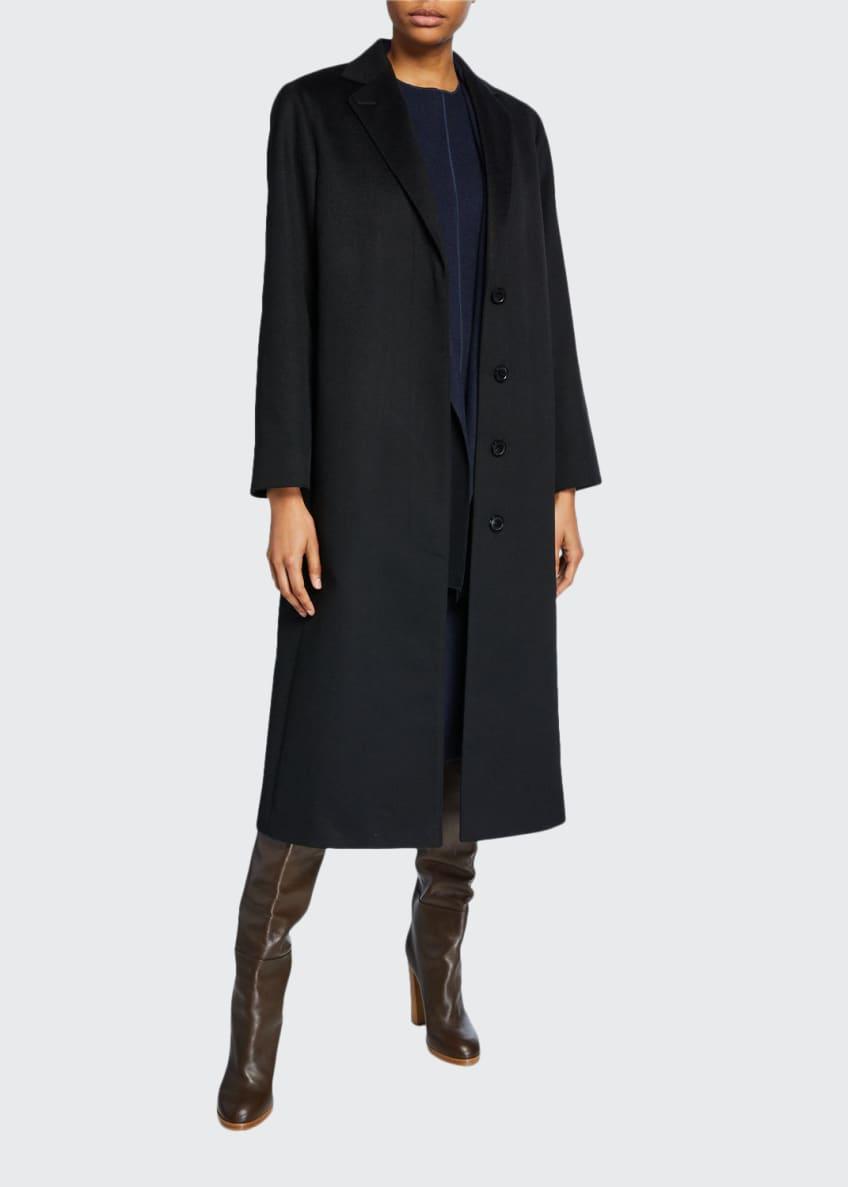 Agnona Cashmere Wrapped Robe Coat & Matching Items
