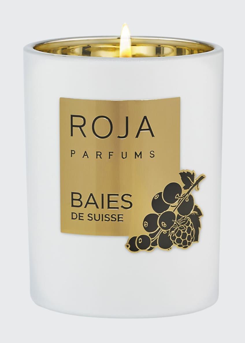 Roja Parfums Baies De Suisse Candle, 7.8 oz./