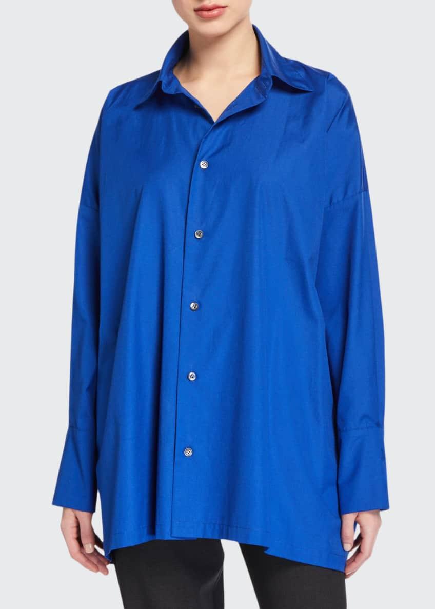 Eskandar A-Line Button-Front Shirt & Matching Items