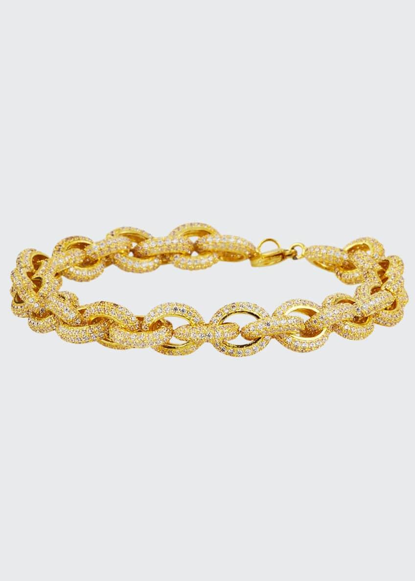 Fallon Pave-Link Bracelet