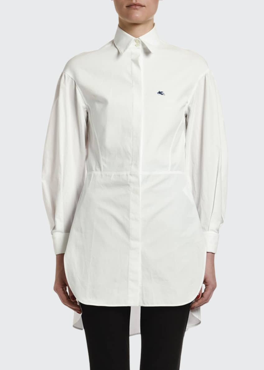 Etro Seamed-Waist Cotton Tunic & Matching Items