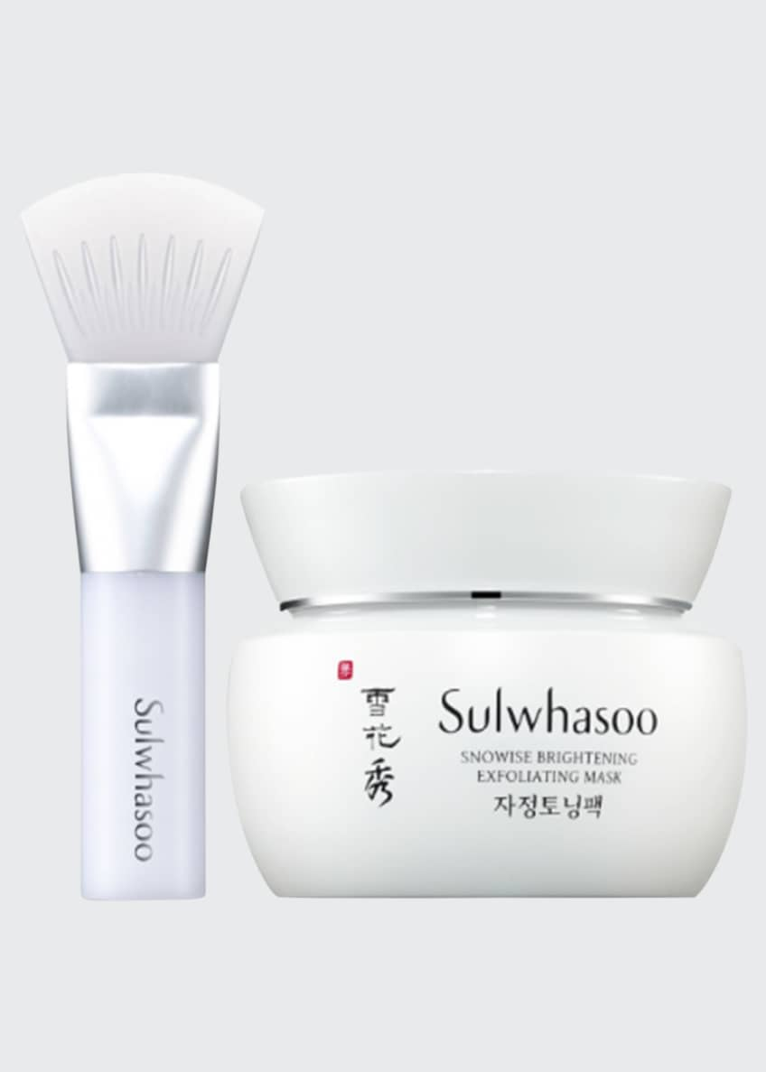 Sulwhasoo Snowise Brightening Exfoliating Mask, 2.7 oz./ 80