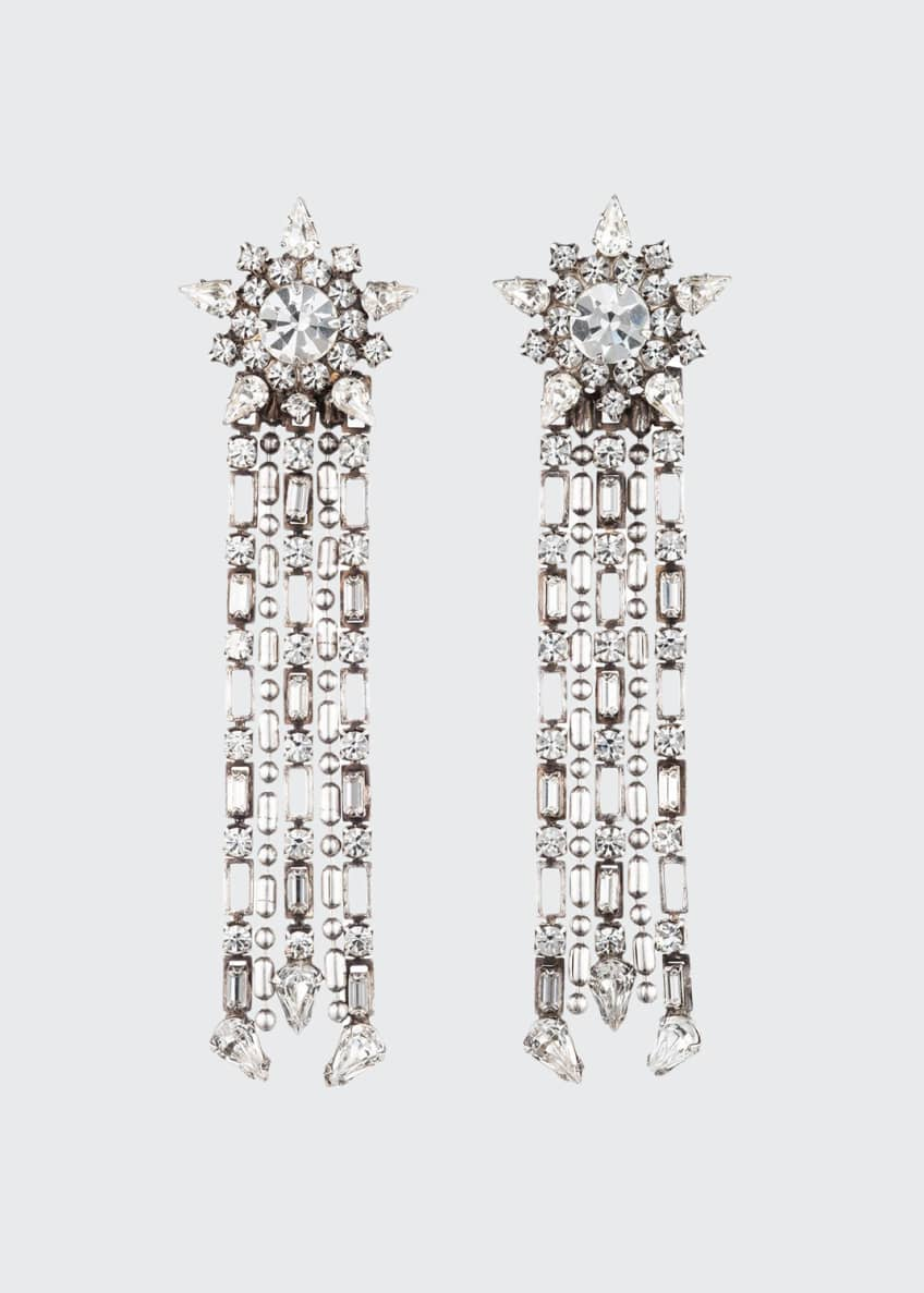 Dannijo Phoebe Crystal Dangle Earrings