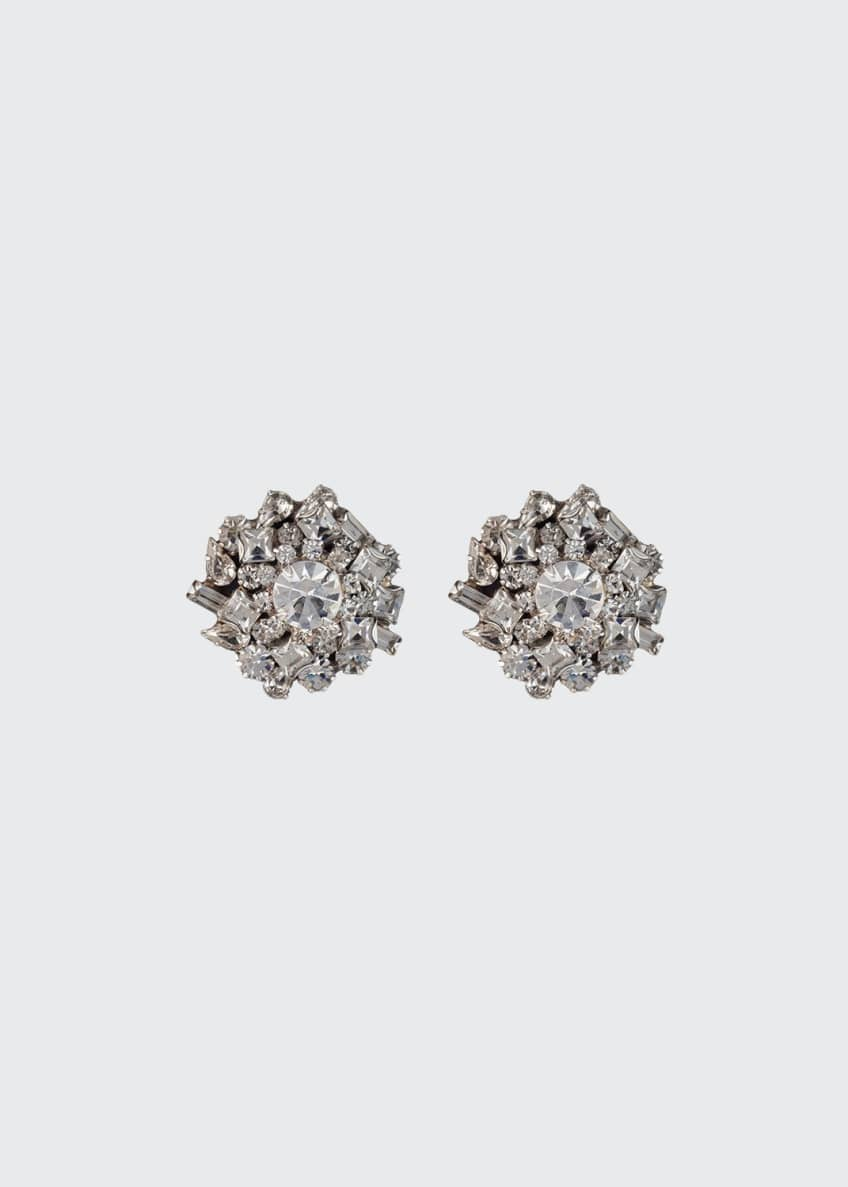 Dannijo Nessa Crystal Cluster Earrings