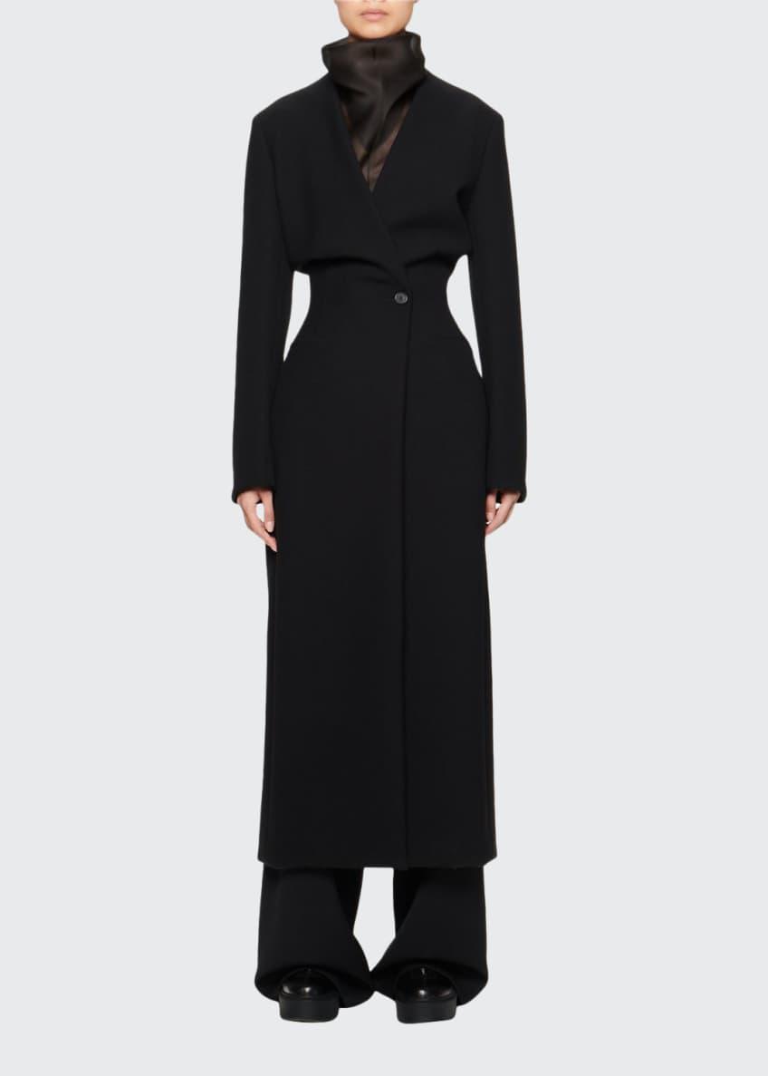 THE ROW Nadine Scuba Coat & Matching Items