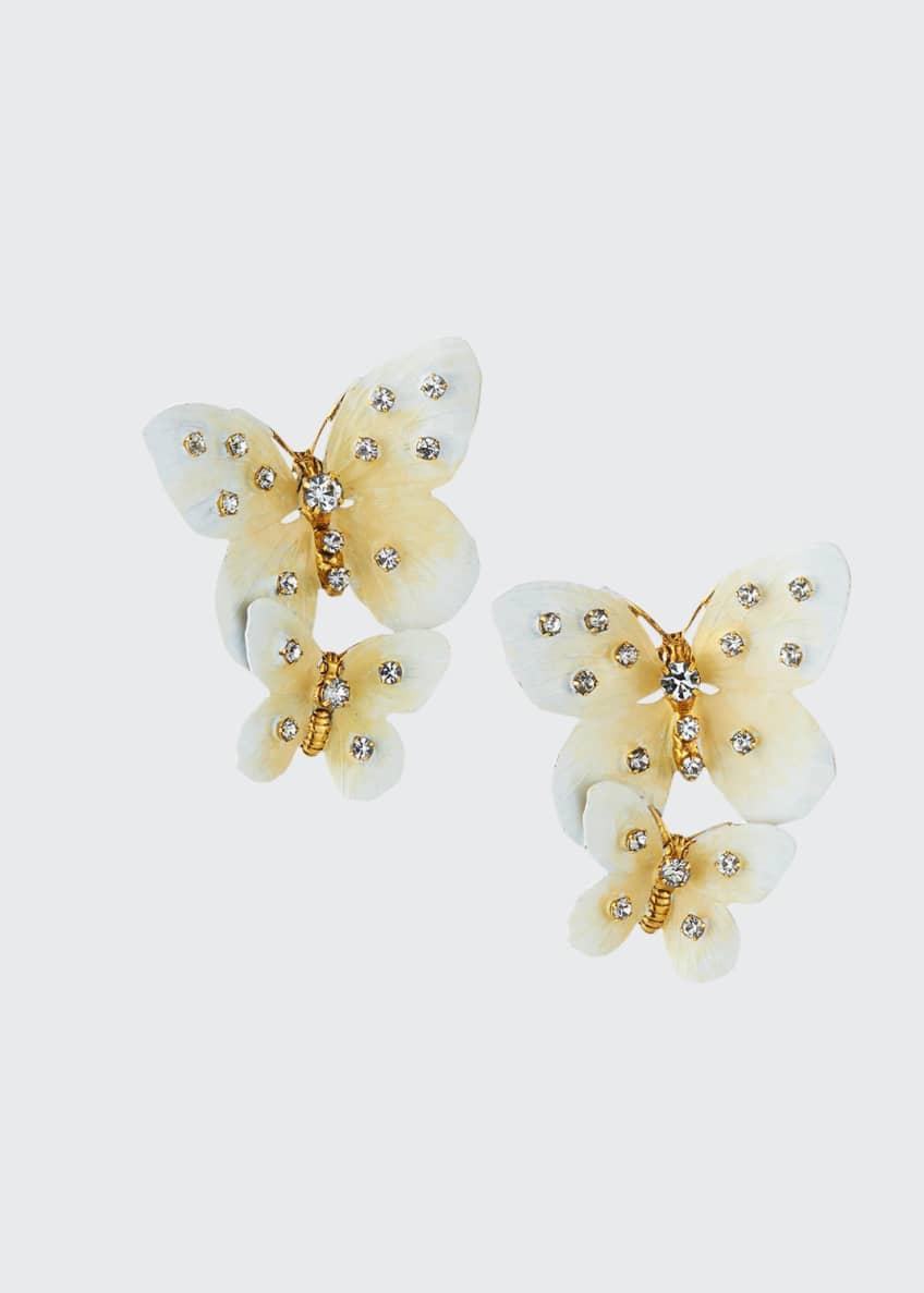 Jennifer Behr Lisabetta Butterfly-Dangle Earrings