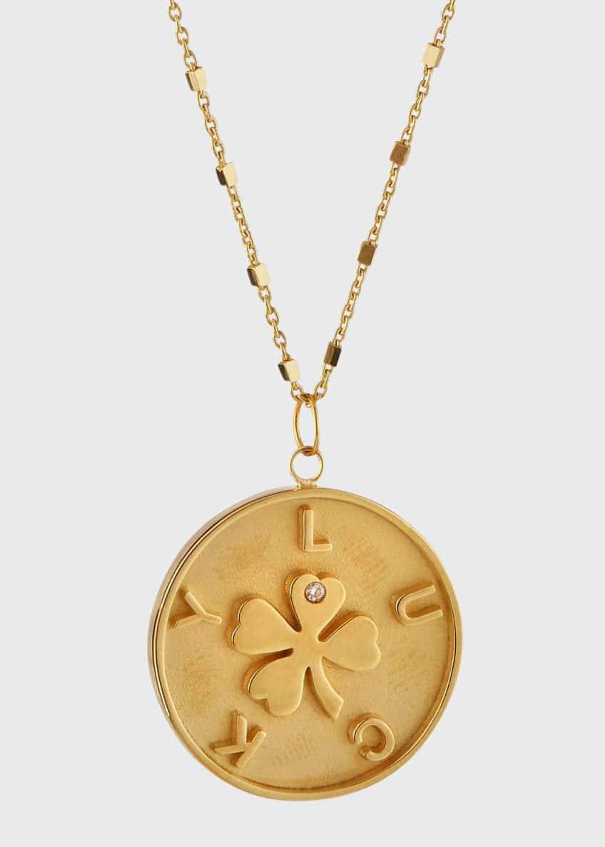 Jennifer Zeuner Keisha Lucky Pendant Necklace