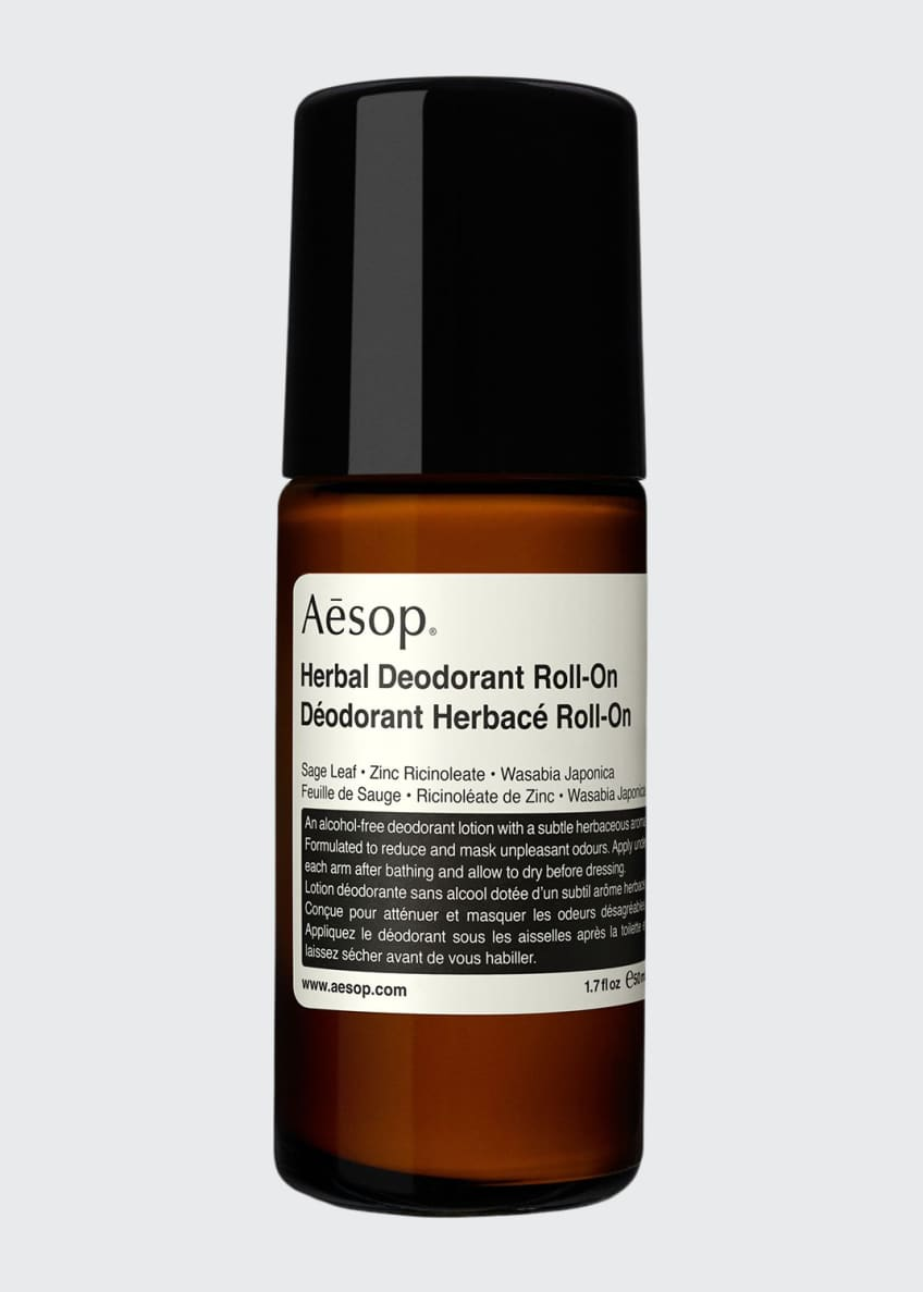 Aesop Herbal Deodorant Roll-On, 1.7 oz./ 50 mL