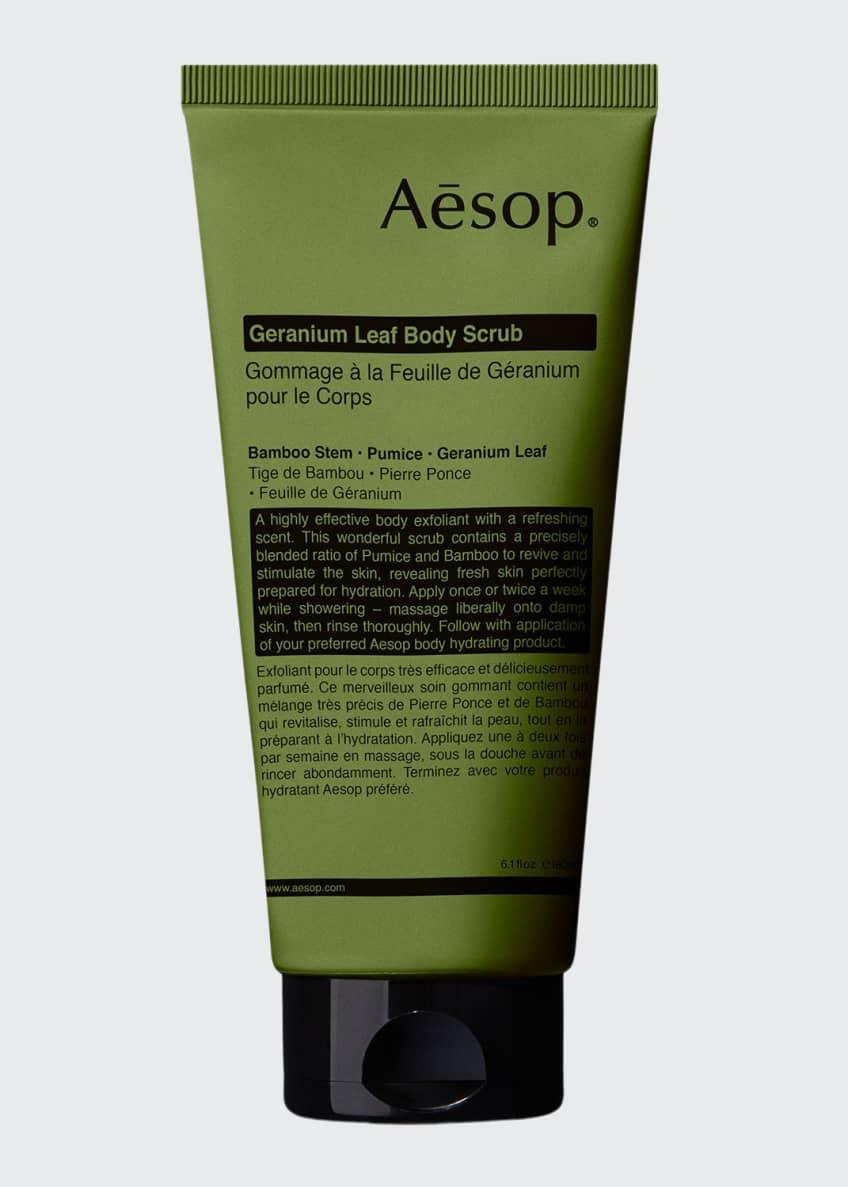 Aesop Geranium Leaf Body Scrub, 6 oz./ 180