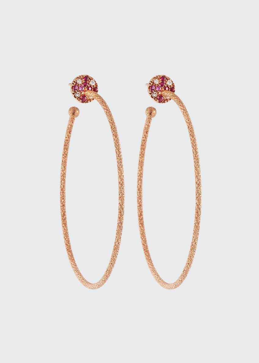 Carolina Bucci 18k Pink Gold Large Diamond &
