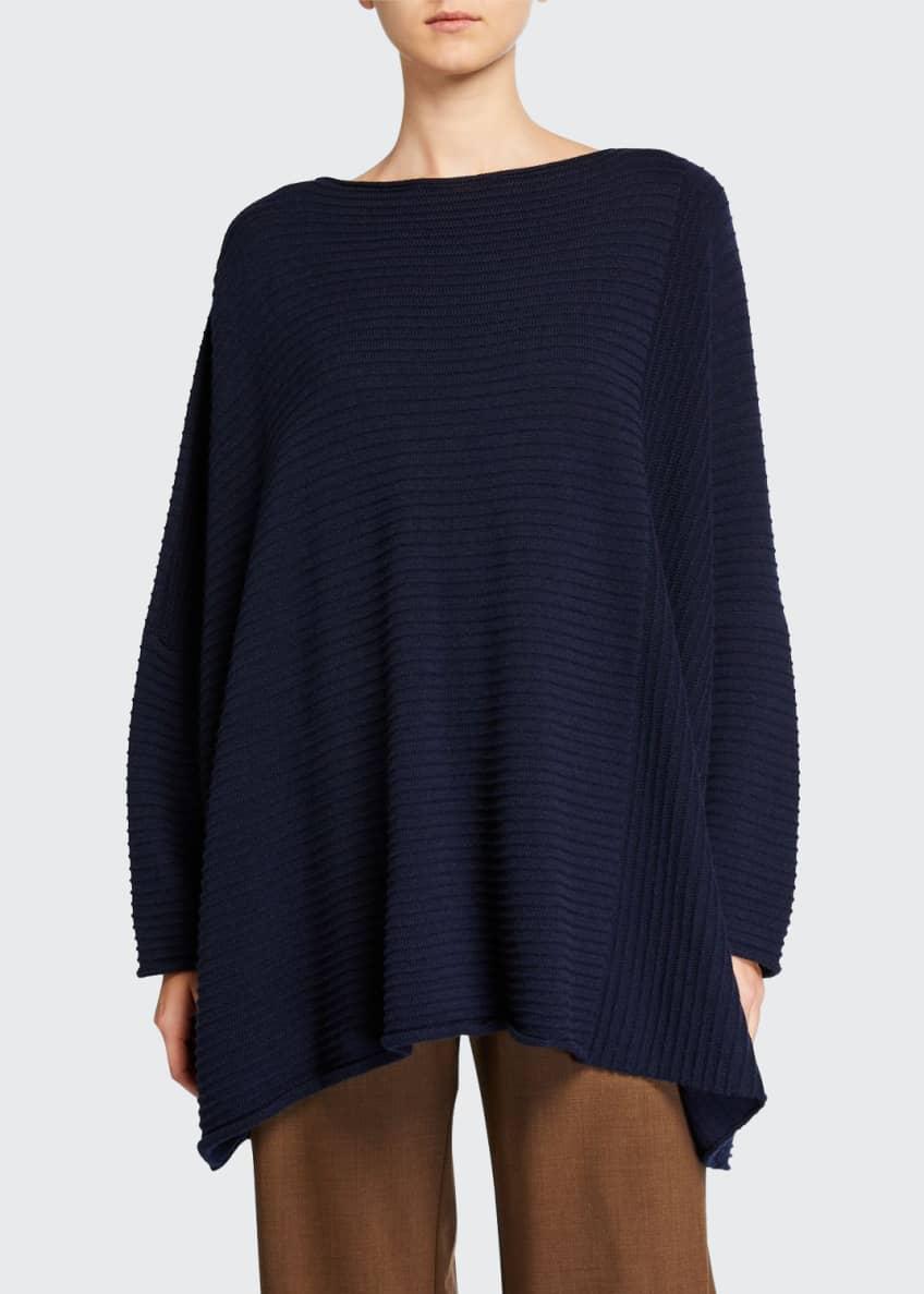 Eskandar Cashmere Slim-Sleeve Caftan Sweater & Matching Items