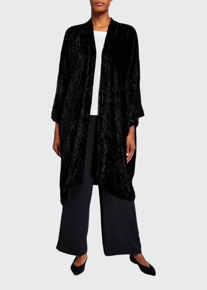 Eskandar Floral-Print Jersey Button-Front Jacket & Matching Items
