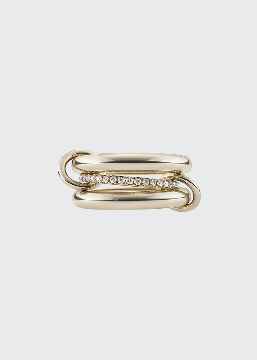 Image 1 of 1: Libra 18k Diamond & Connector Ring