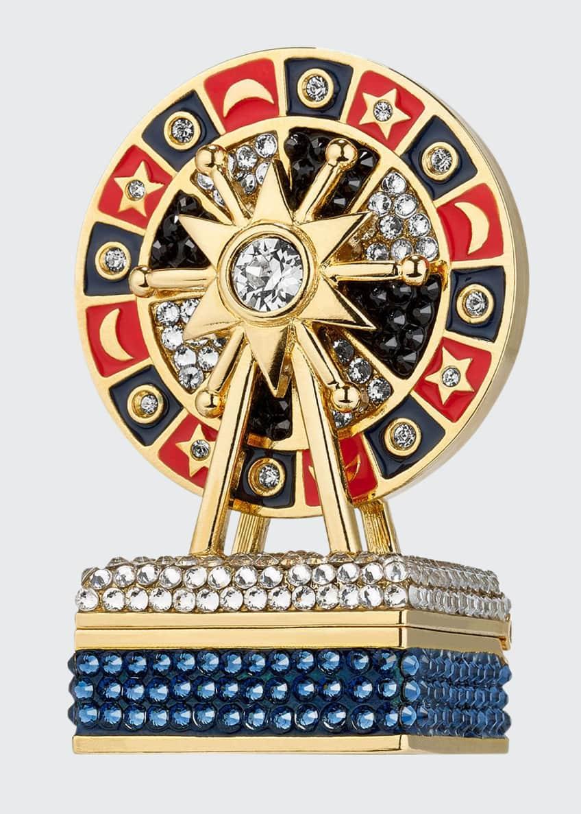Estee Lauder Pleasures Royal Roulette Perfume Compact by