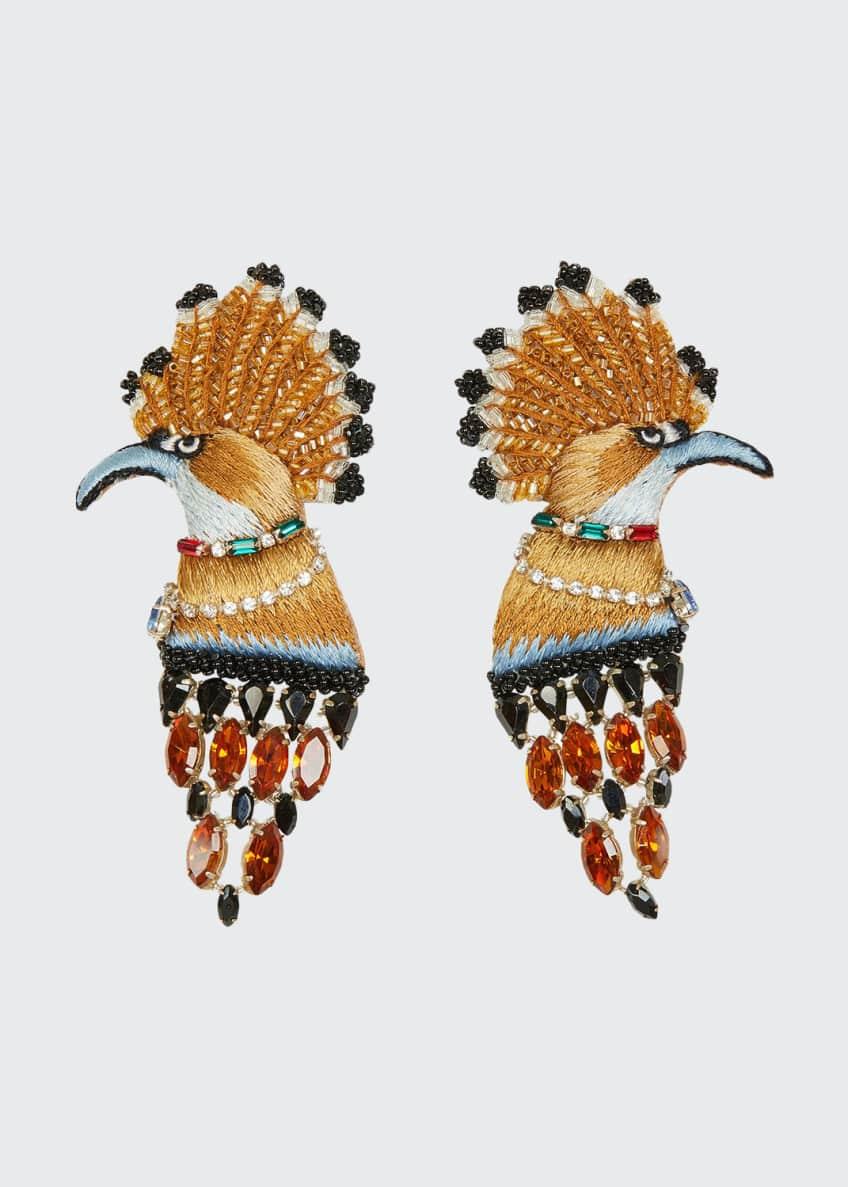 Mignonne Gavigan Palace Bird Earrings