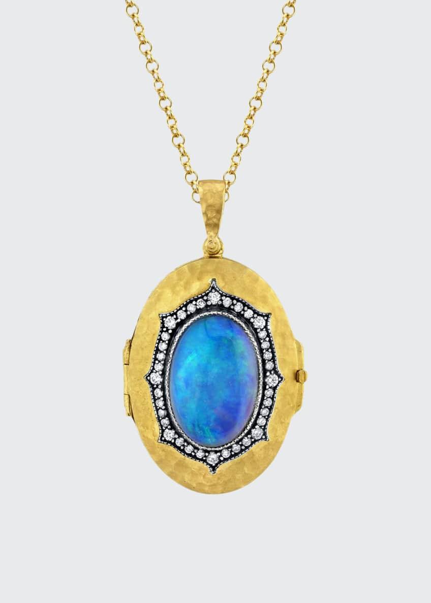 Arman Sarkisyan Opal Locket Necklace