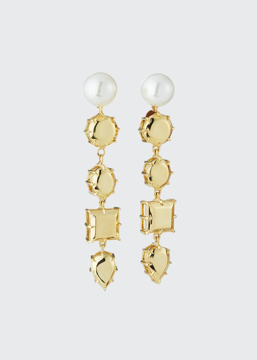 Image 1 of 2: Rock Club Dangle Earrings