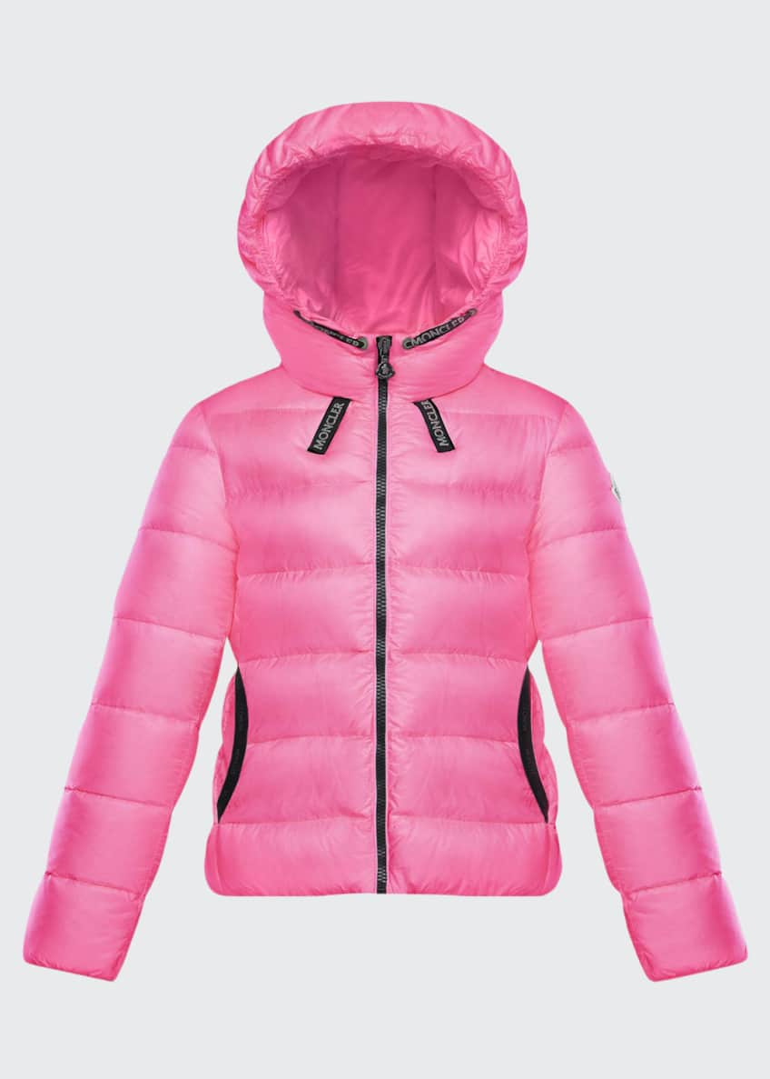 Image 1 of 2: Chevril Hooded Puffer Coat, Size 8-14