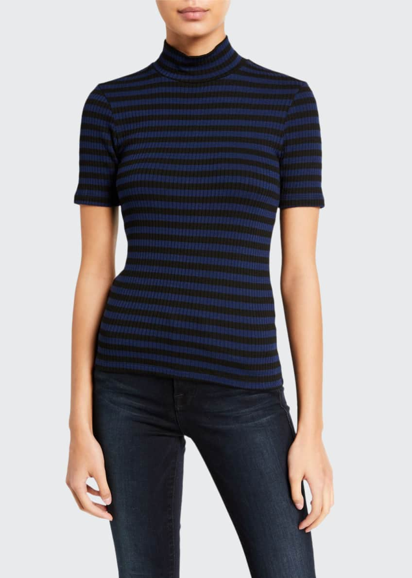 FRAME 70s Striped Turtleneck Top & Matching Items