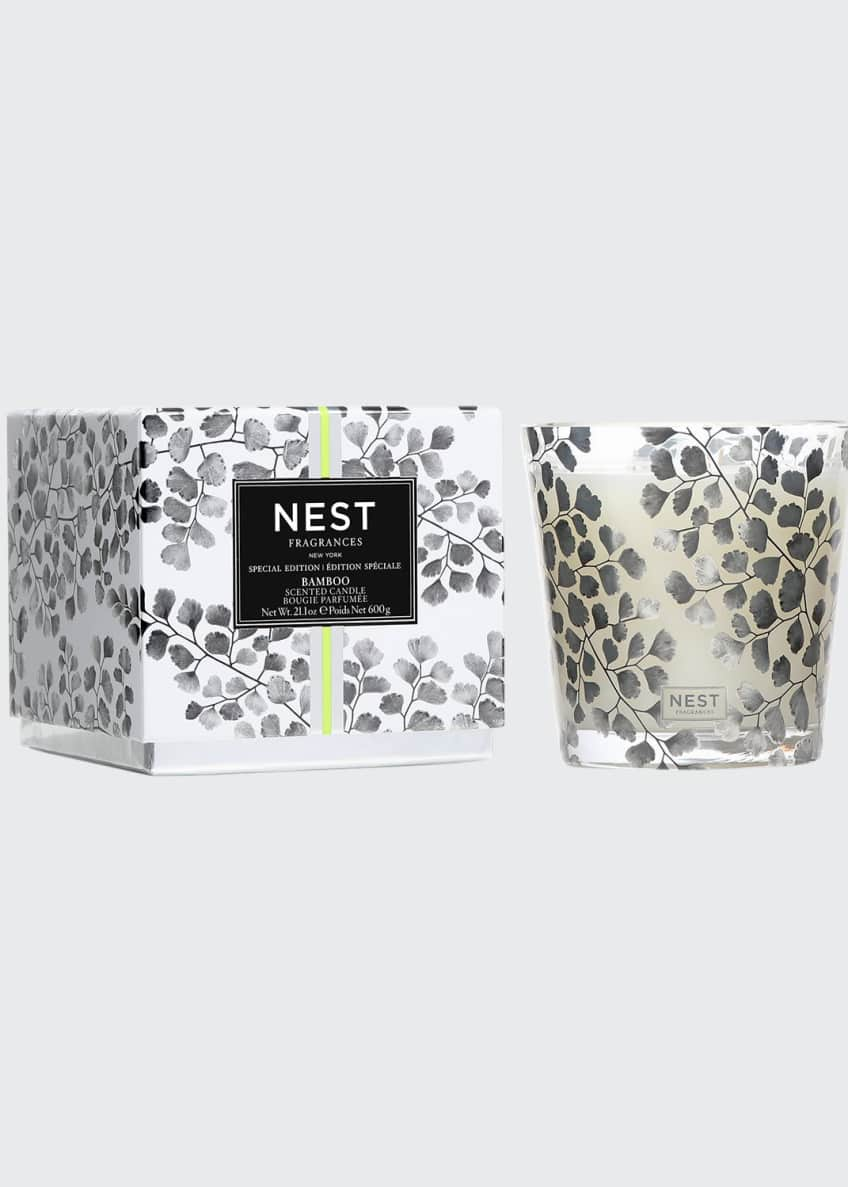 Nest Fragrances Bamboo Specialty 3 Wick Candle, 21.2