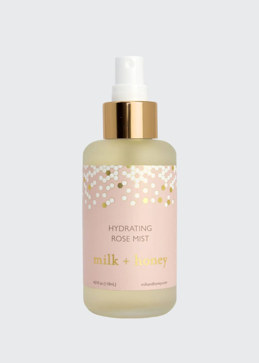 Milk + honey Hydrating Rose Mist, 40 fl oz / 118 ml - Bergdorf Goodman