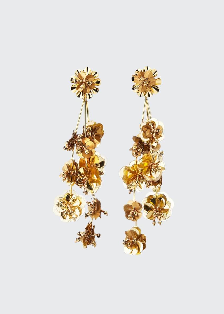 Mignonne Gavigan Britta Flower Dangle Earrings