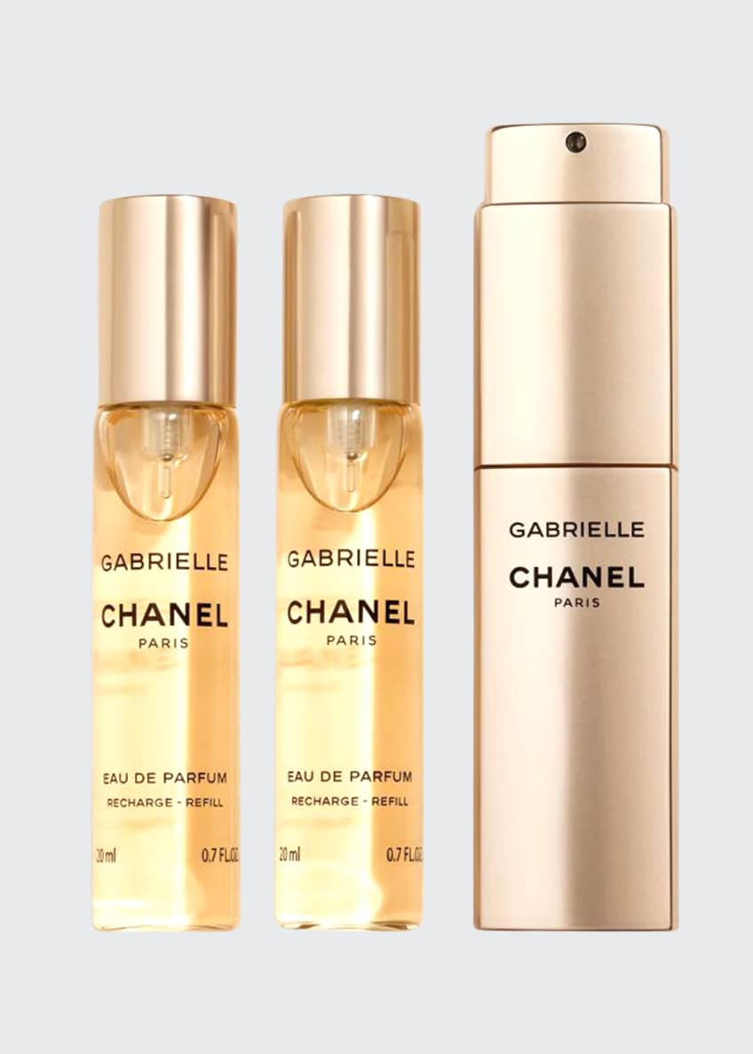 Image 1 of 1: GABRIELLE CHANEL Eau de Parfum Twist and Spray, 3 x 0.7 oz.