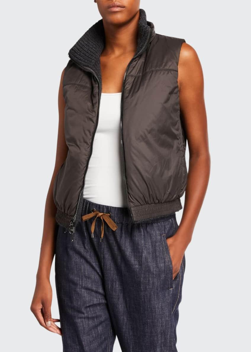 Brunello Cucinelli Cashmere-Nylon Vest & Matching Items