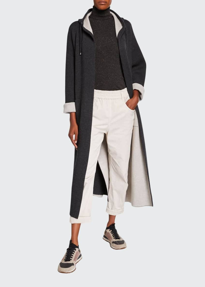 Brunello Cucinelli Cashmere Hooded Coat & Matching Items