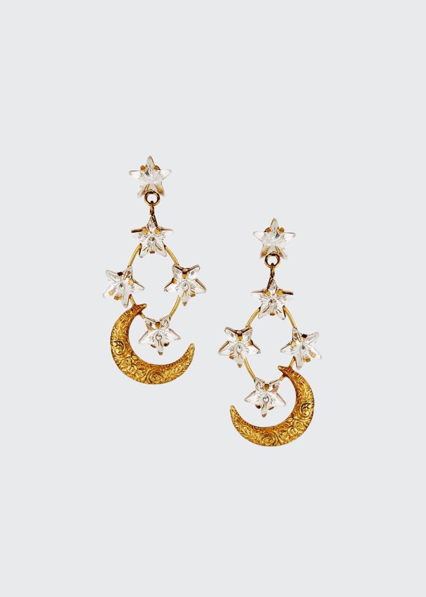 Jennifer Behr Australis Crystal-Star Earrings