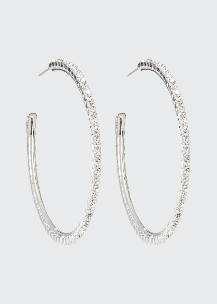 Auden Small Crystal Hoop Earrings