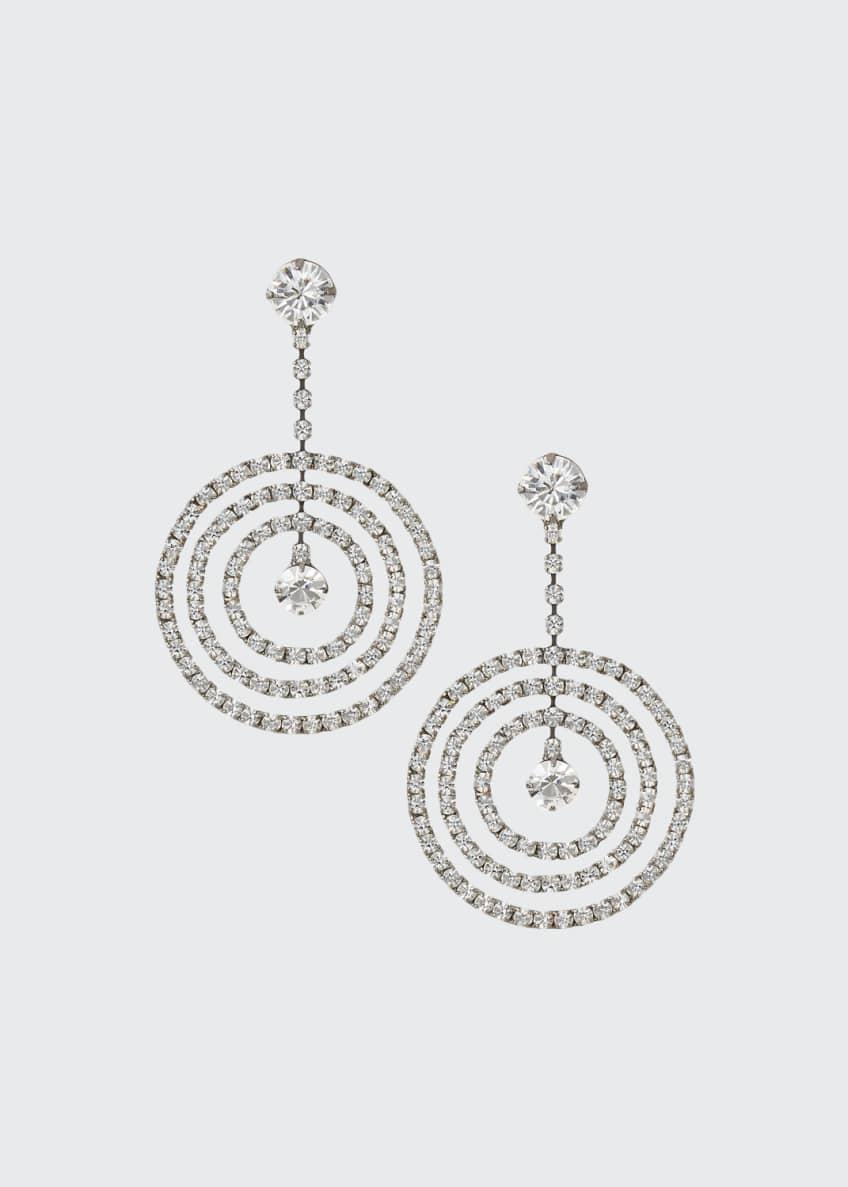 Auden Large Crystal Drop Earrings