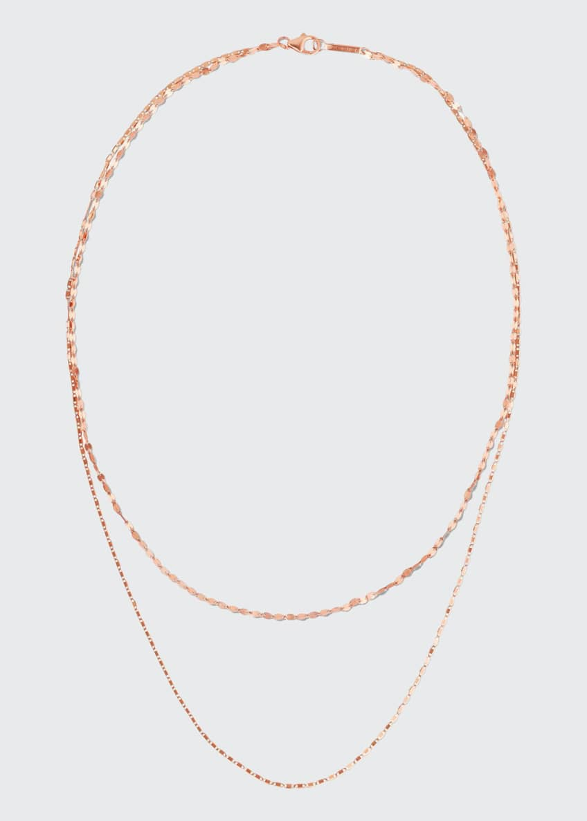 Image 1 of 2: 14k Tiered 2-Strand Necklace