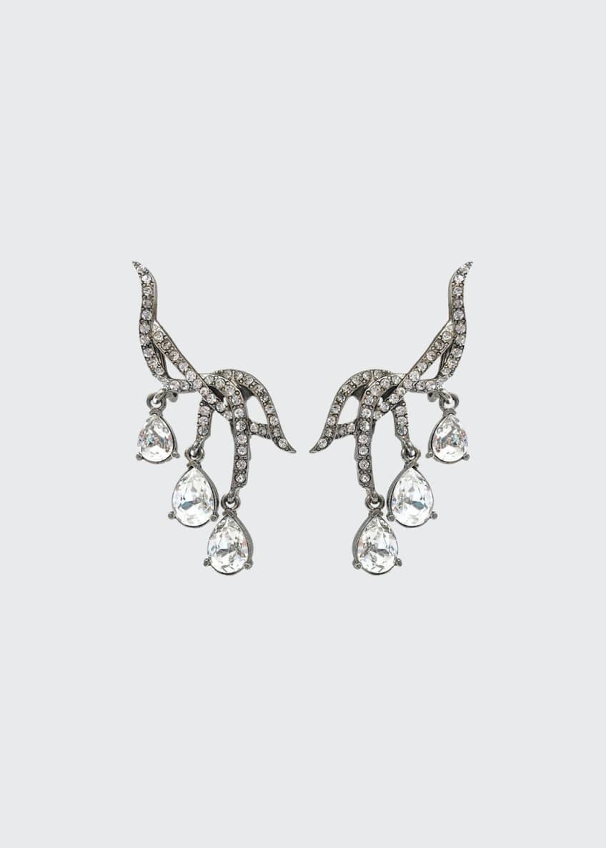 Image 1 of 1: Classic Falling Crystal Earrings