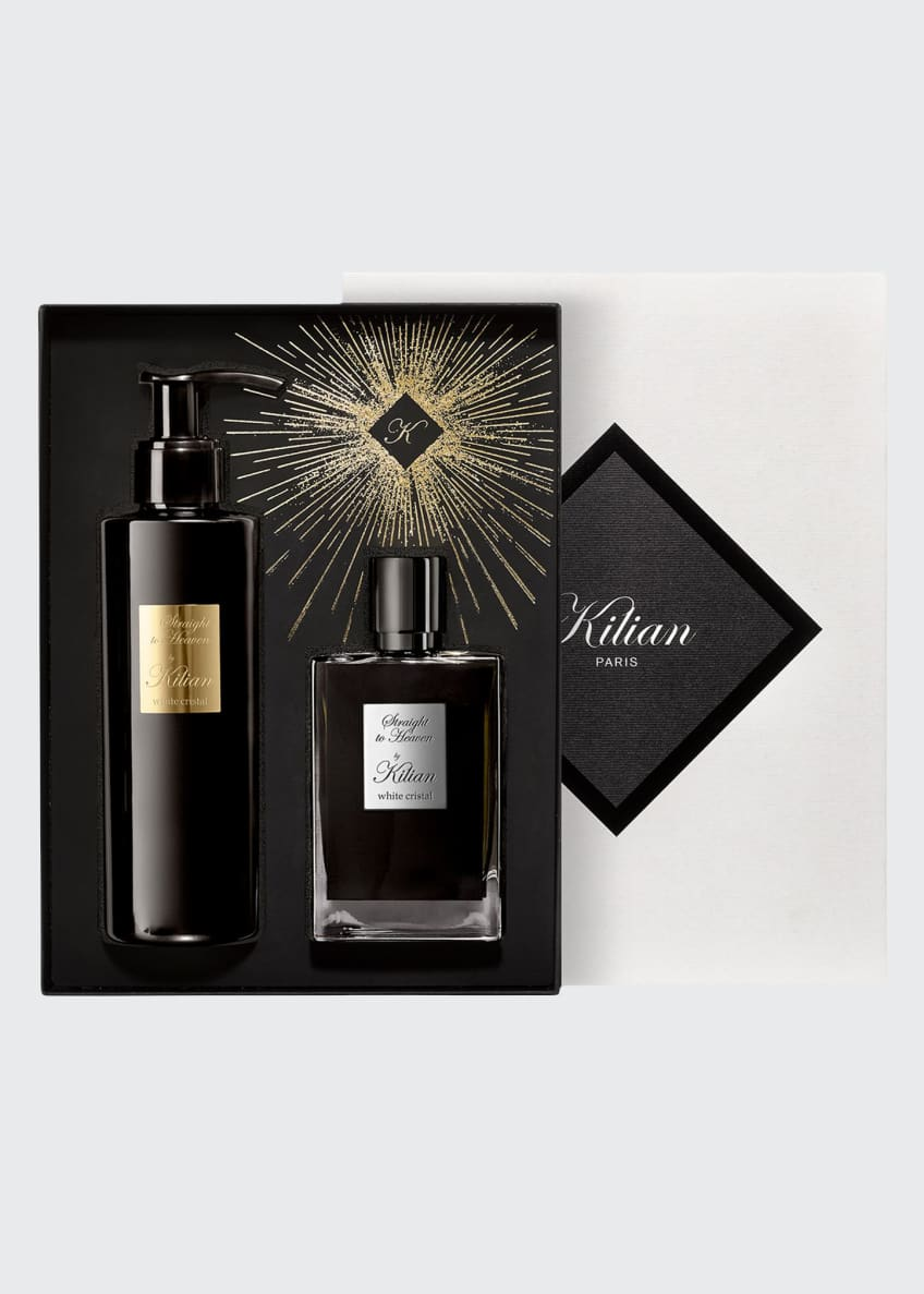 Kilian Straight To Heaven, White Cristal Holiday Set - Bergdorf Goodman