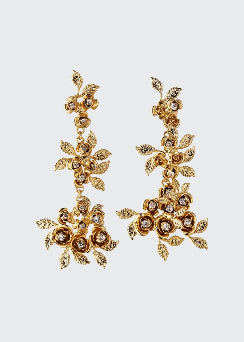 Image 1 of 1: Lirica Dangle Earrings