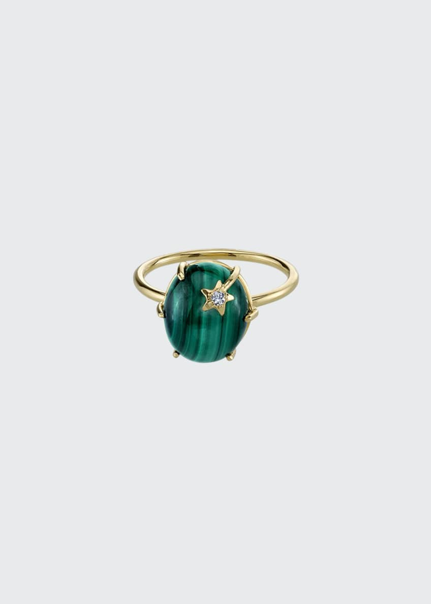 Andrea Fohrman 18k Mini Galaxy Star Ring, Size