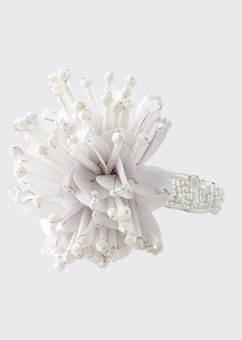 Image 1 of 1: Starburst Beaded Napkin Ring