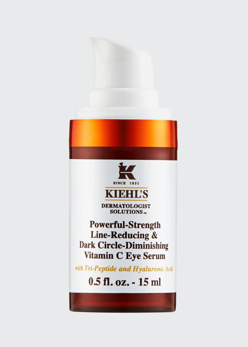 Image 1 of 5: Powerful Strength Line-Reducing & Dark Circle-Diminishing Vitamin C Eye Serum, 0.5 oz. / 15 ml