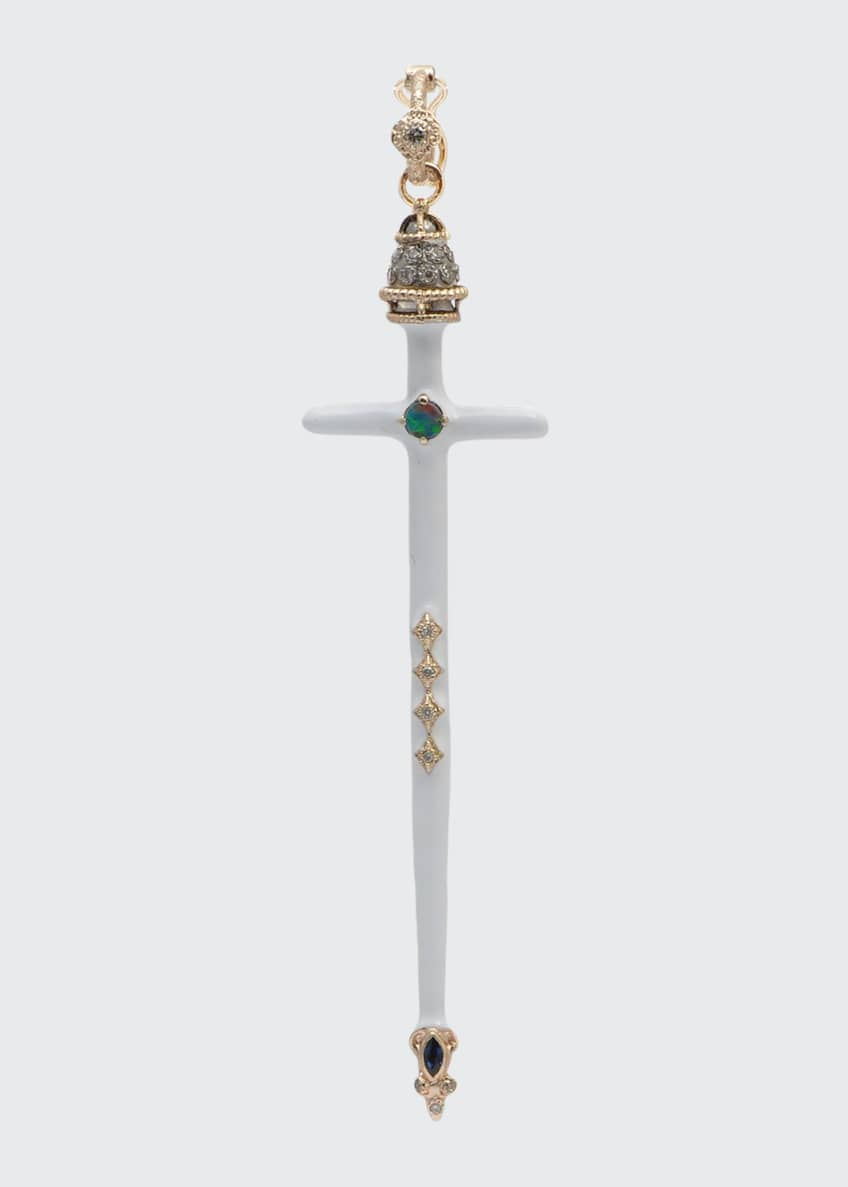 Image 1 of 1: Cuento Sword Shaped Enhancer, White