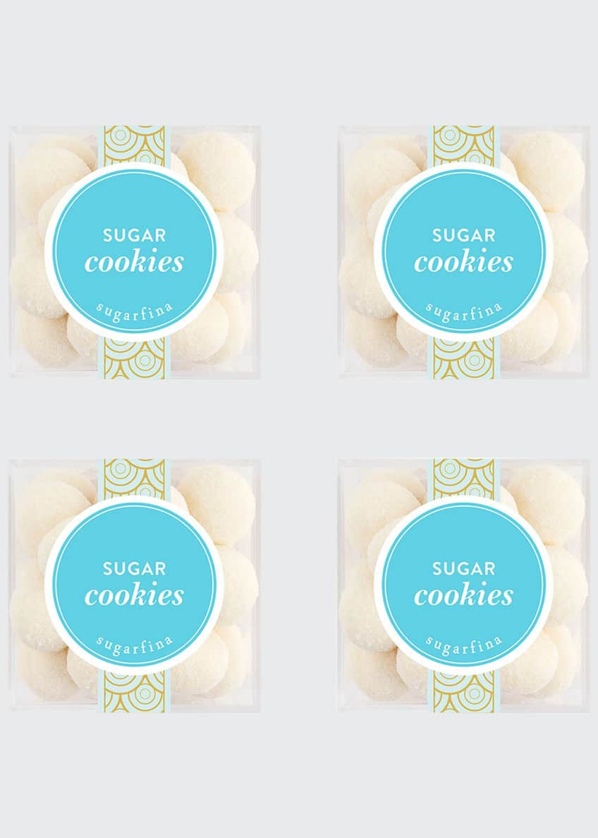 Image 1 of 3: Sugar Cookies Small Cube 4-Piece Kit