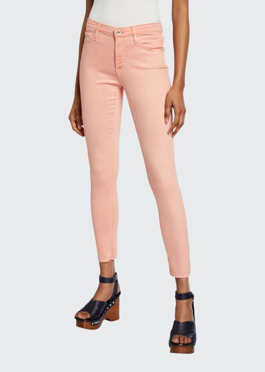 AG Adriano Goldschmied The Legging Ankle Cropped Skinny Jeans